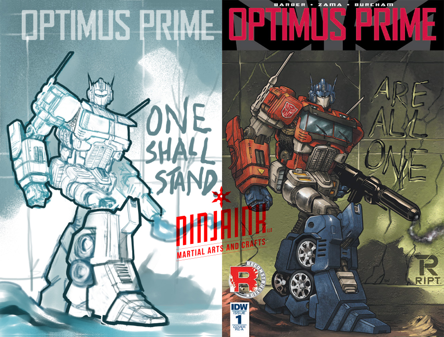 OPTIMUS PRIME Variant by ninjaink