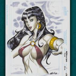 Vampirella Commission by ninjaink