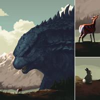 Bambi Versus Godzilla