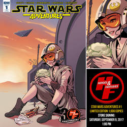 Star Wars Adventures 1 by ninjaink