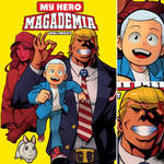 MY HERO MAGADEMIA WALL MIGHT COVER