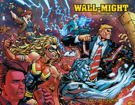 WALL-MIGHT Cover by ninjaink