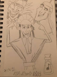 The Emperor New Groove  by MusicLover88