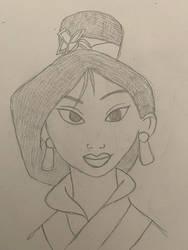 Disneys Mulan  by MusicLover88