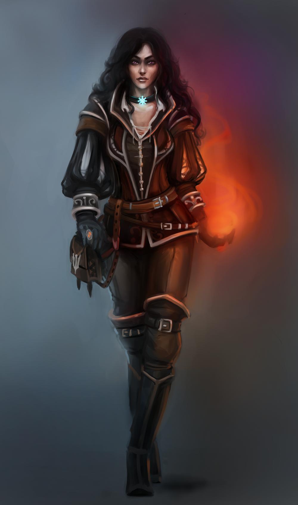 Sorceress by Tissia1229