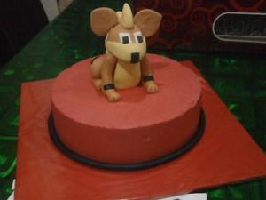 Growlithe Cake!