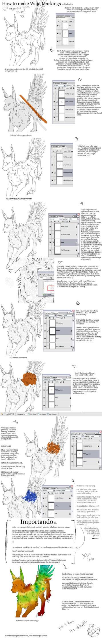 How to Make Waja Markings by ShadowKiwi