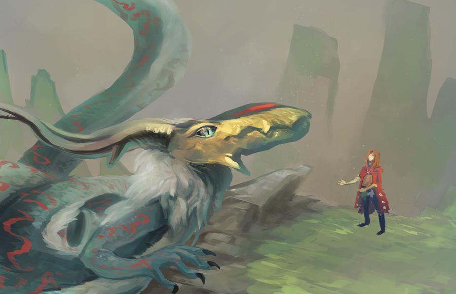 Dragonshenge by ShadowKiwi