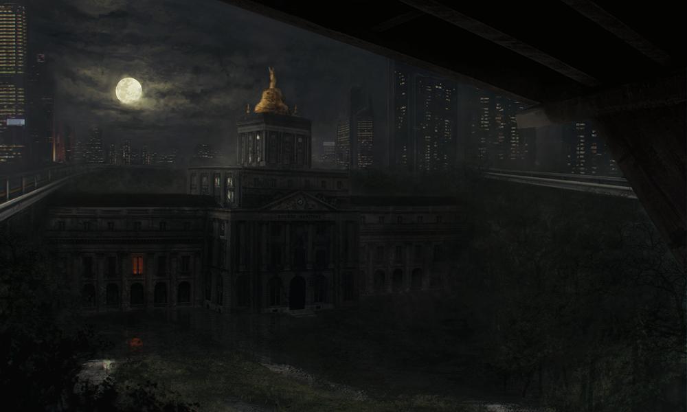 Abandoned Asylum by ChrisPaints