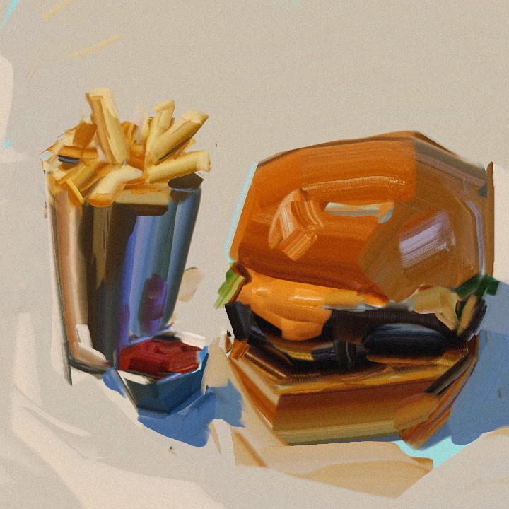 Burger by ChrisPaints