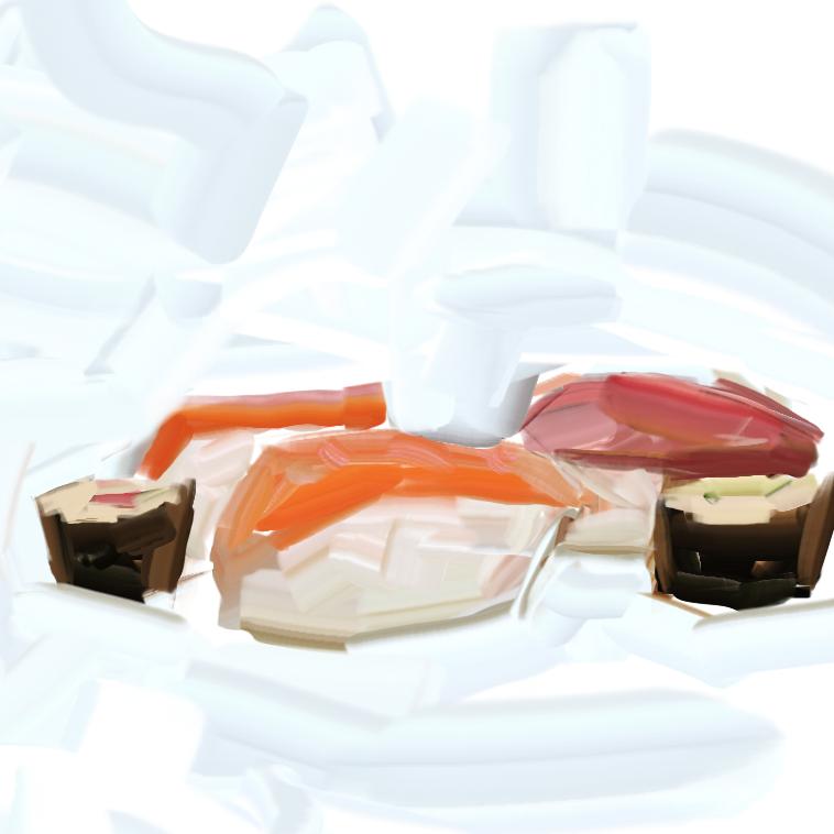 Sushi by ChrisPaints