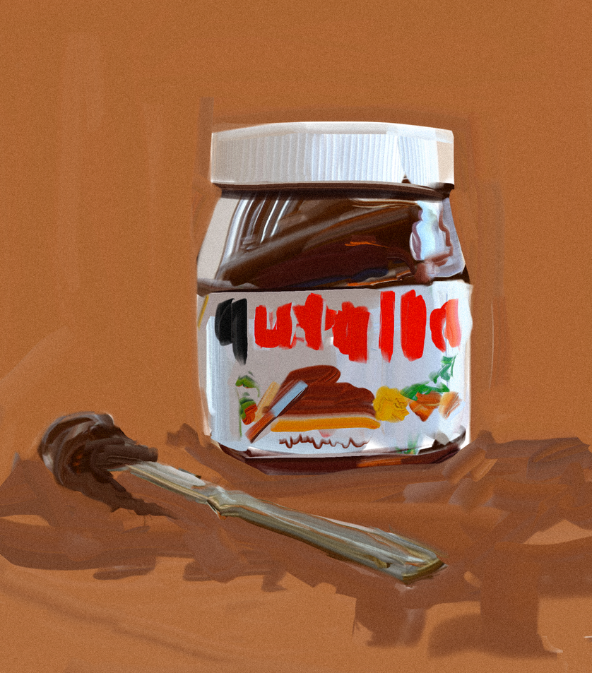 15 min nutella by ChrisPaints