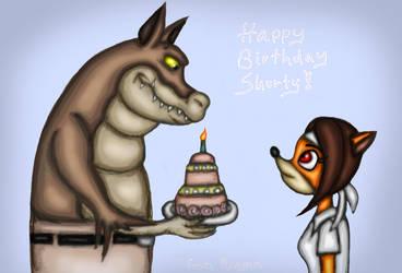Happy Birthday Gift for Shorty