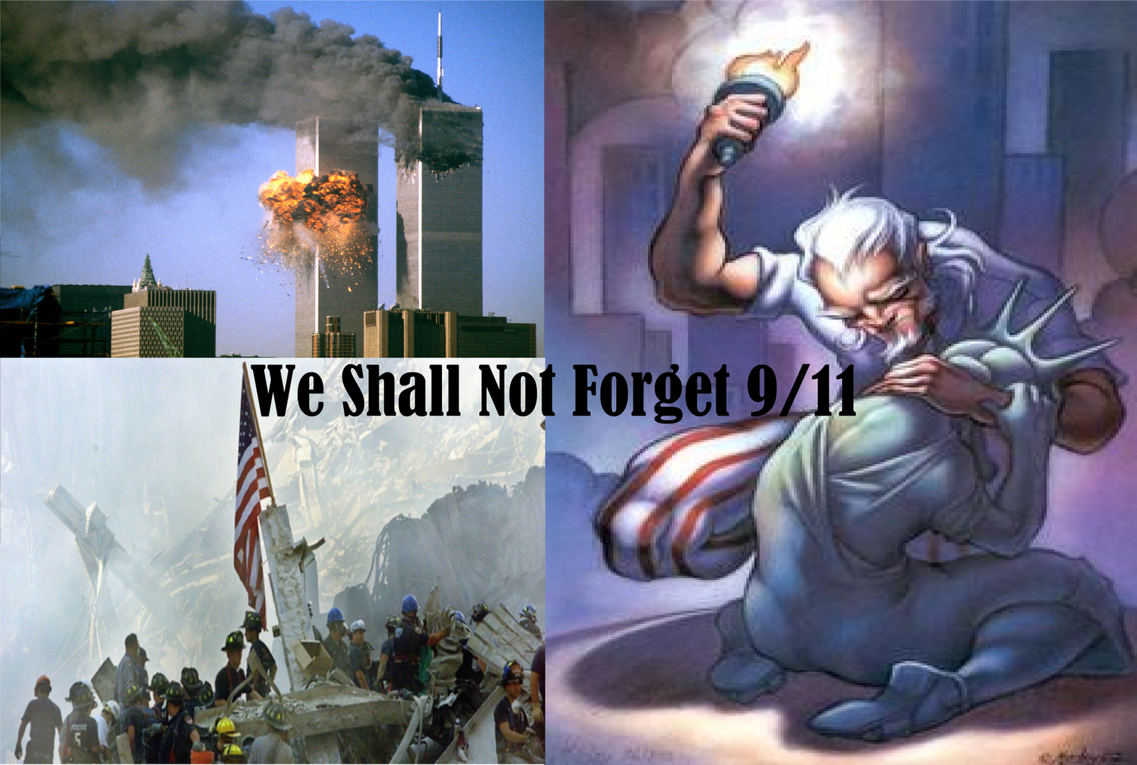 We shall not forget 9/11 by WFTC141