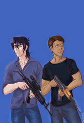 Sergeant Keith Yeun and Sergeant Lance Santos by WFTC141