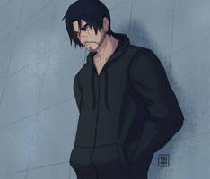 Blackwatch Genji Shimada (hood off)