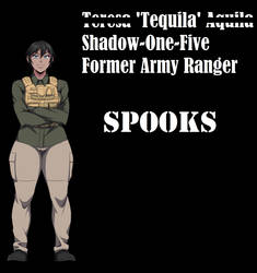 Spooks Teresa Aquila