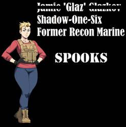 Spooks Jamie Glazkov