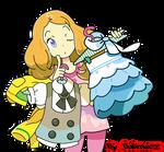 Serena Pokemon XY