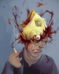 - poppin a Head open - by the-John-Doe