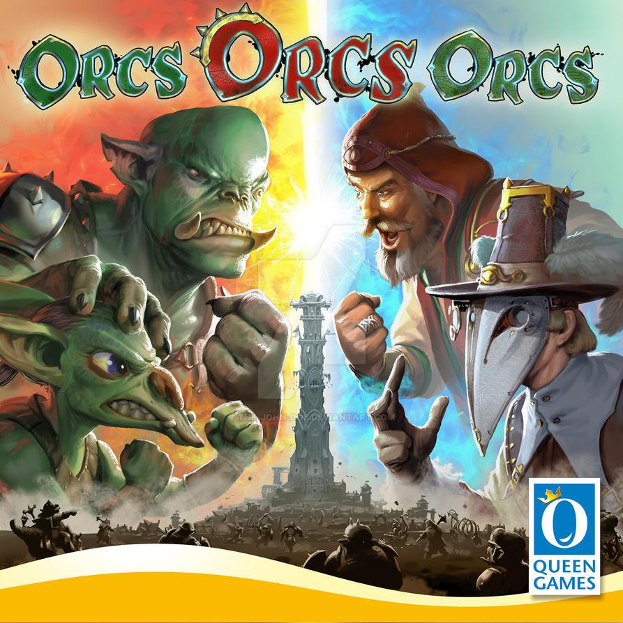 'OrcsOrcsOrcs' Cover illustration by the-John-Doe