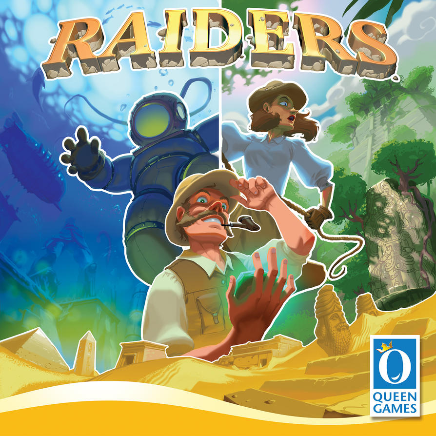 Raiders - Coverart by the-John-Doe