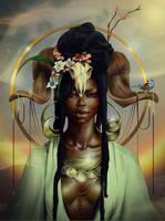 ARIES by sheebamaya