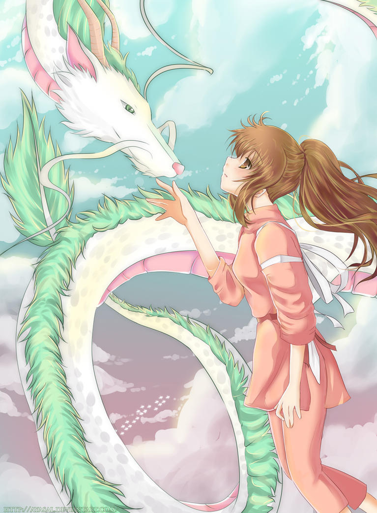 Spirited Away by Ayasal