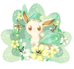 Commission #6  Leafeon