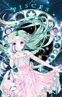 Pisces [Zodiacal Constellations] by Ayasal