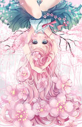 Sakura Drop [w. Speedpaint] by Ayasal