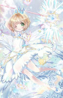 Cardcaptor Sakura: Clear Card w. SpeedPaint by Ayasal