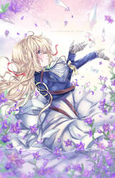 Violet Evergarden by Ayasal