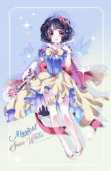Mahou Shoujo SnowWhite W. SpeedPaint by Ayasal