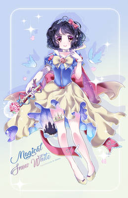 Mahou Shoujo SnowWhite W. SpeedPaint