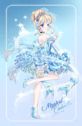 Mahou Shoujo Cinderella W. SpeedPaint by Ayasal