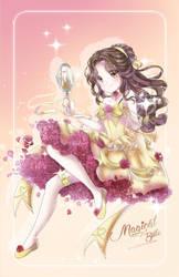 Mahou Shoujo Belle W. SpeedPaint by Ayasal