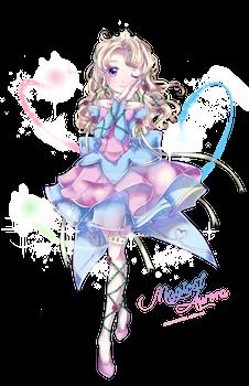 Mahou Shoujo Aurora W. SpeedPaint