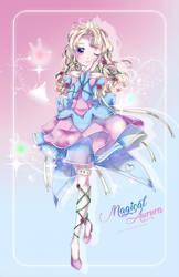 Mahou Shoujo Aurora W. SpeedPaint by Ayasal