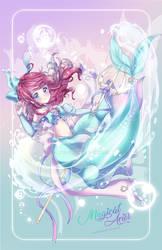 Mahou Shoujo Ariel W. SpeedPaint
