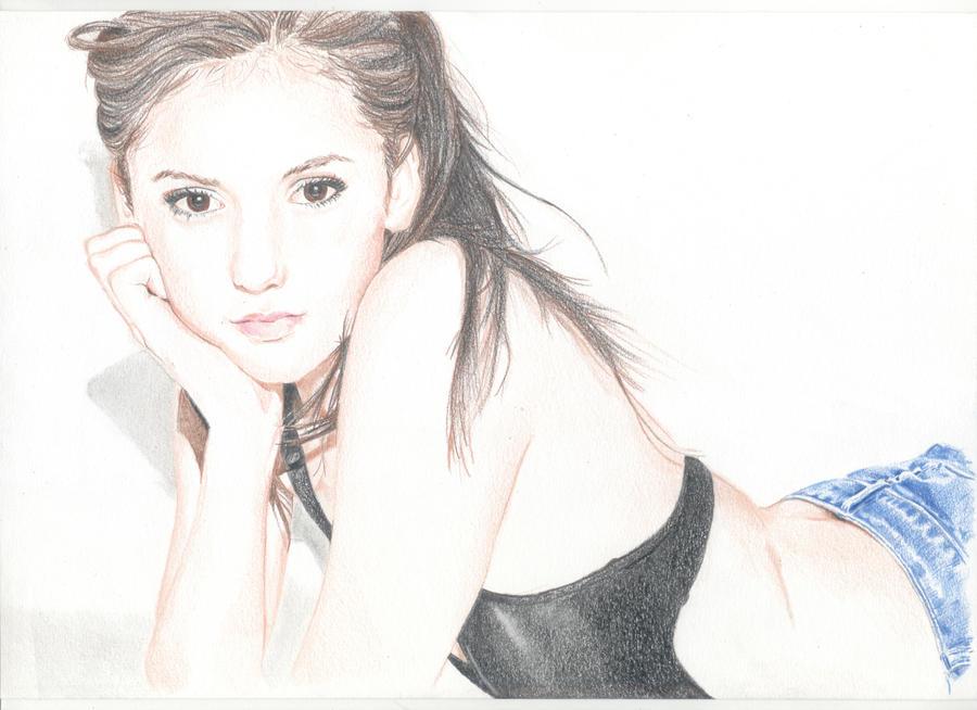 Nina Dobrev by X-TeO-X
