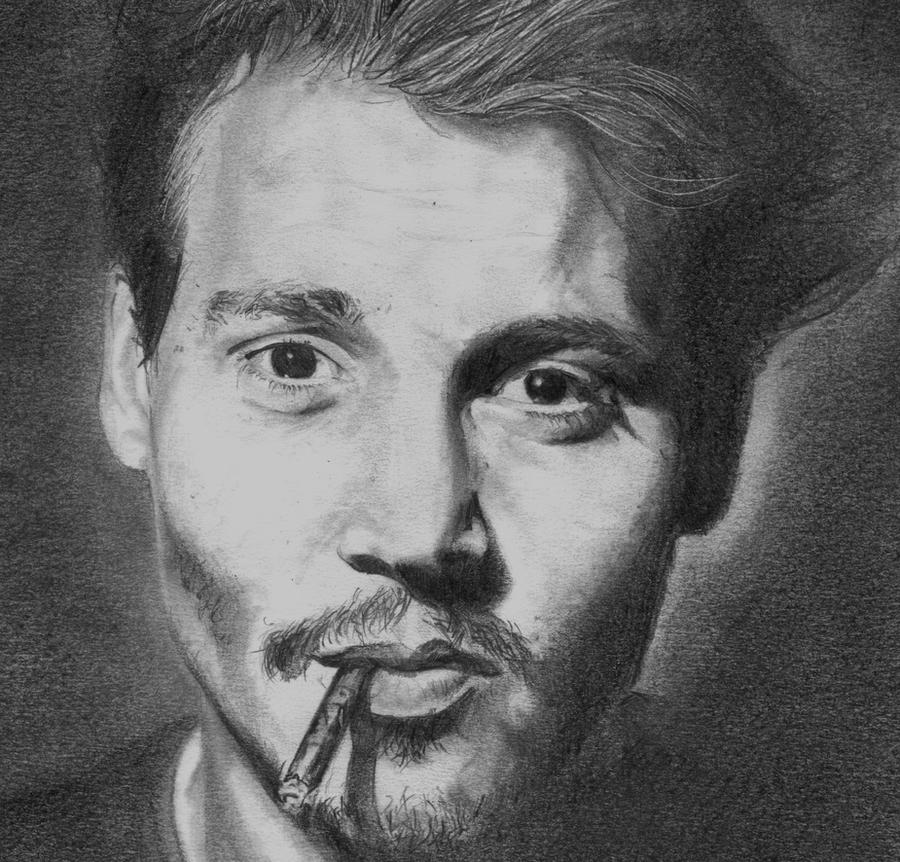 Jhonny Depp Zoom by X-TeO-X