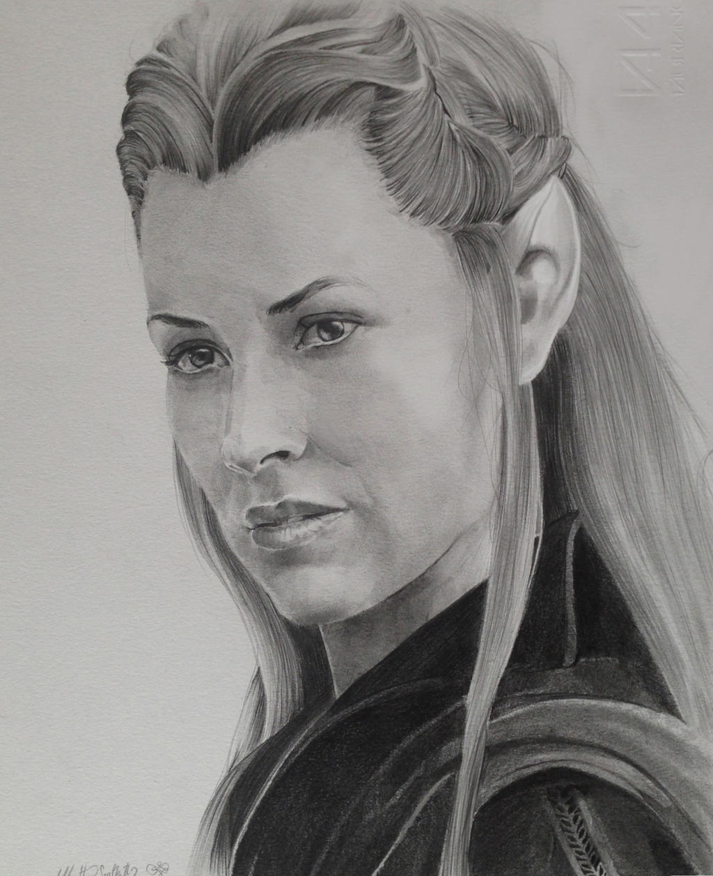 tauriel the hobbit the desolation of smaug by x teo x