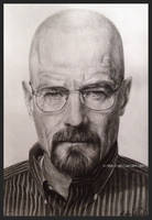 Bryan Cranston - Walter White [Breaking Bad] by X-TeO-X