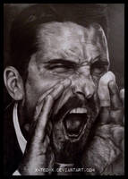 Christian Bale by X-TeO-X