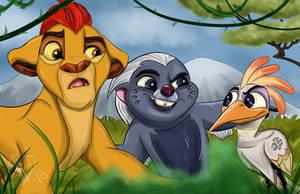 The Lion Guard Friendship by AlexaWayne