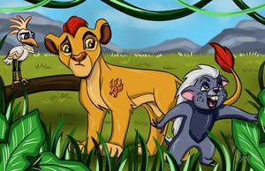 The Lion Guard - Good Times by AlexaWayne