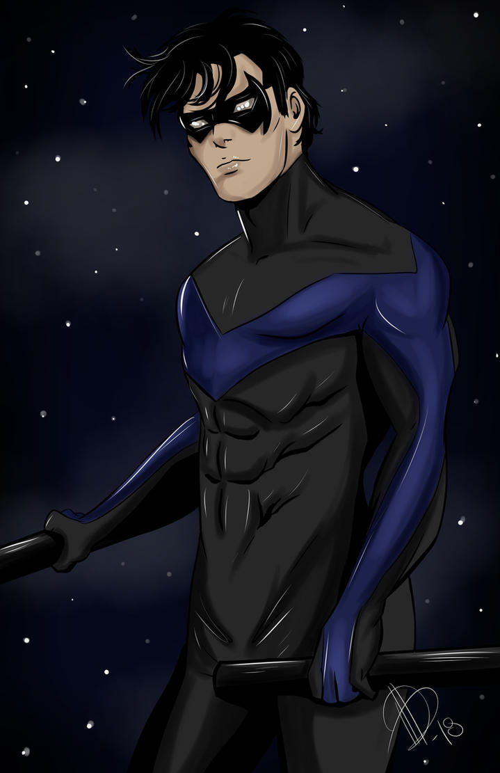Nightwing Commission by AlexaWayne