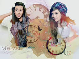 Megan And Liz Graphic by dream93
