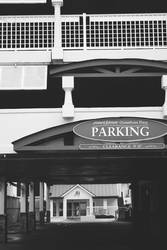 Parking (Black and White) by dream93